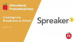 Creating Live Broadcasting using Spreaker Studio