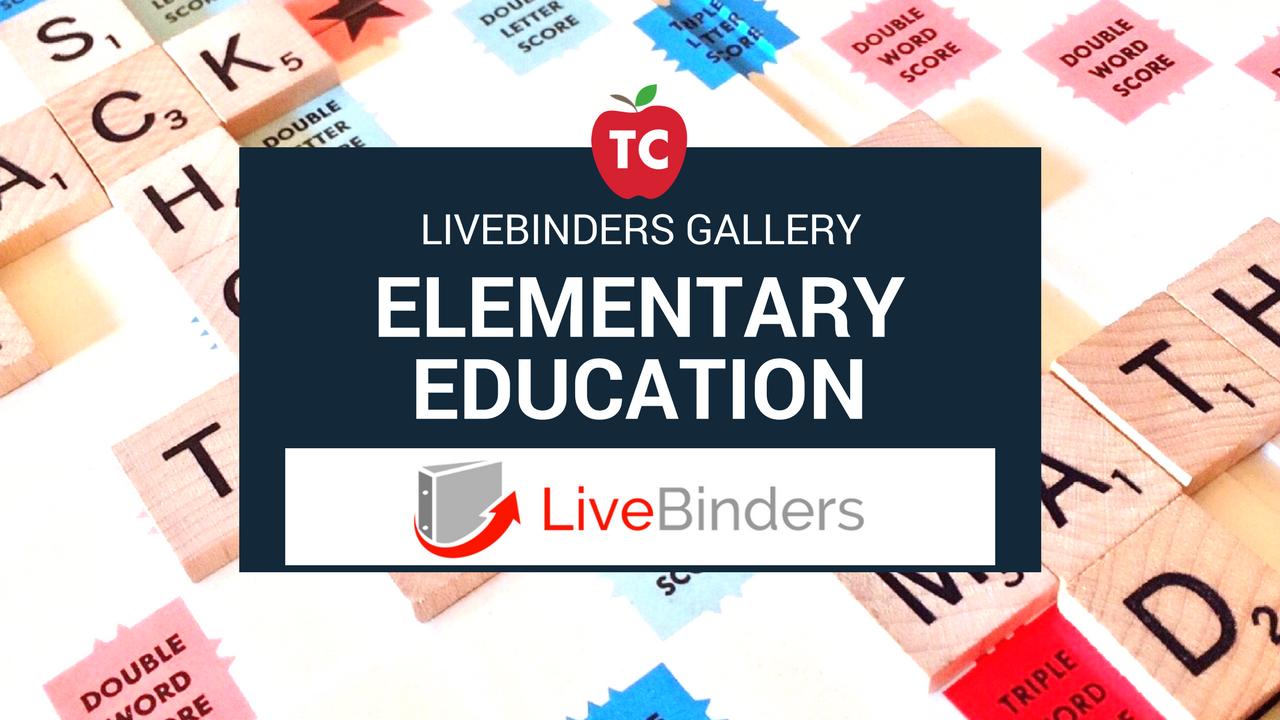 Elementary Education Livebinders Gallery