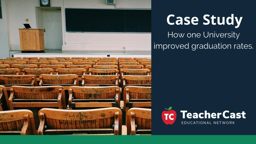 Improving Graduation Rates by using Data and Student Counseling - TeacherCast Guest Blog