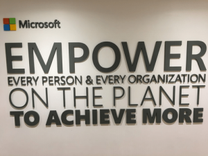 Microsoft: Empower the Planet
