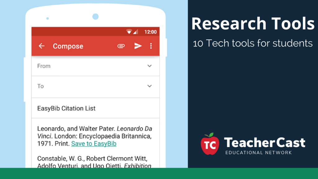 10 Tools for Student Research - TeacherCast Guest Blog