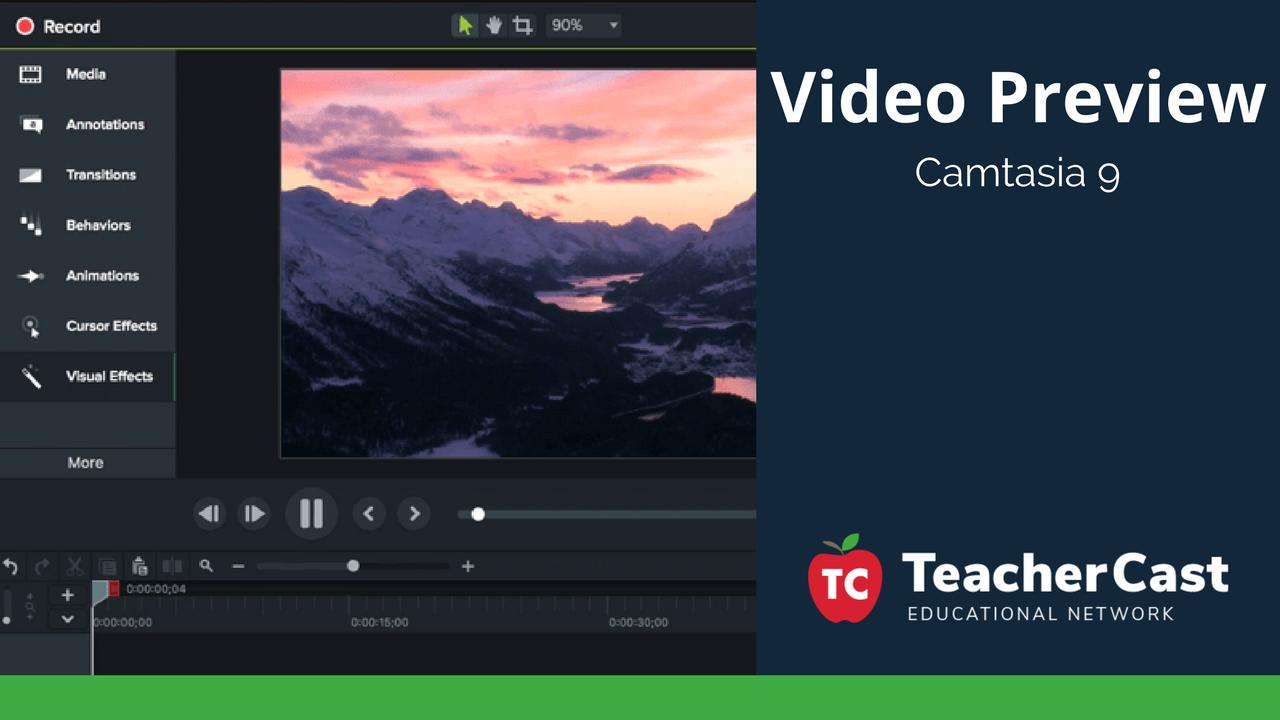 Camtasia 9 Preview Video - TeacherCast Blog