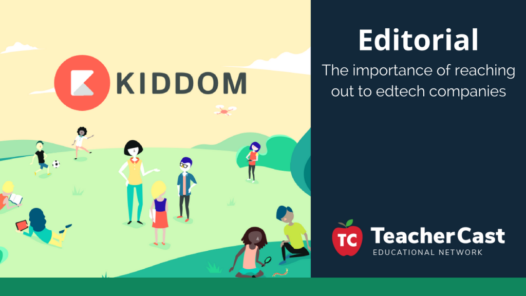 Connect with EdTech Companies - TeacherCast Guest Blog