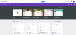Google Forms Template