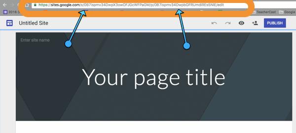 How Do You Publish a NEW Google Site? | Publishing Settings