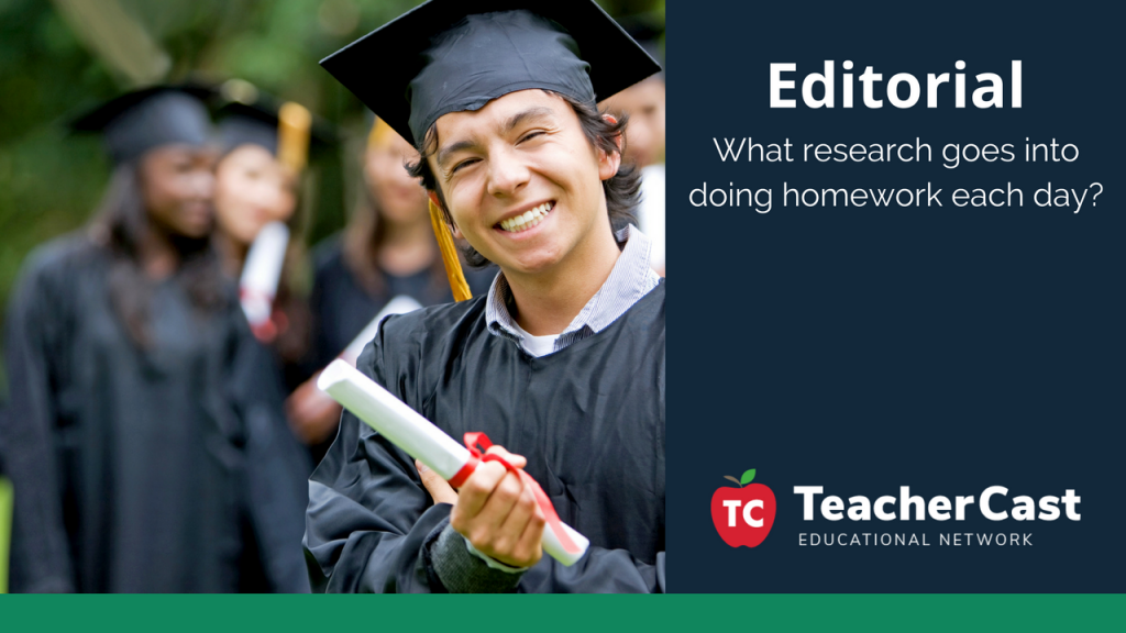Homework Research - TeacherCast Guest Blog