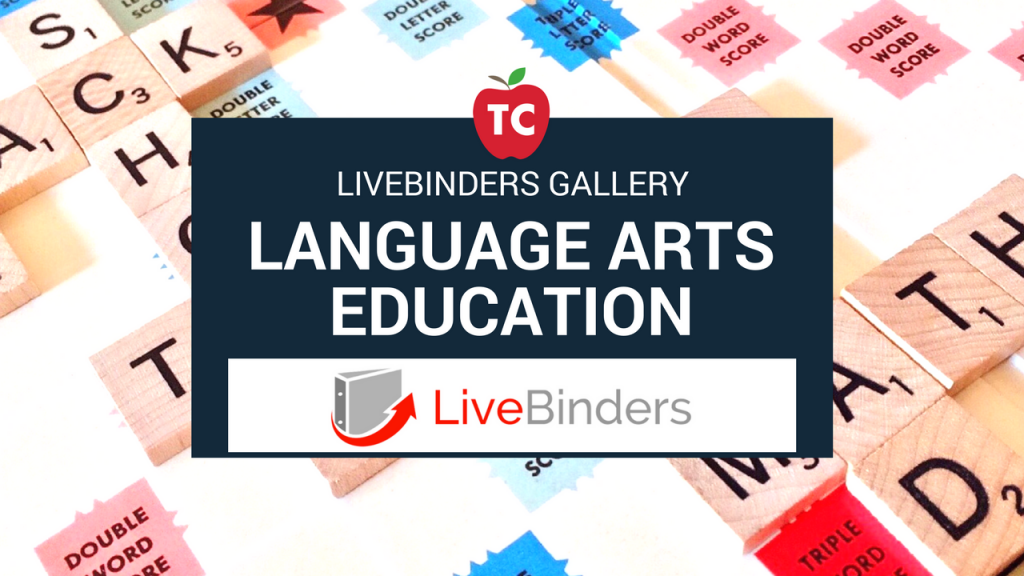 Language Arts Livebinders Gallery