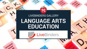 Language Arts Livebinders Gallery
