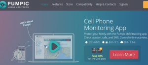 Pumpic Cell Phone Monitoring App