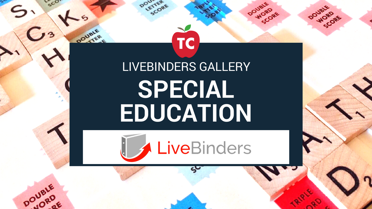 Special Education Livebinders Gallery
