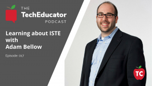 Adam Bellow and the ISTE Conference