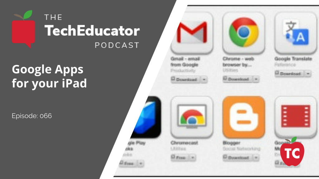 Google Apps for iPads