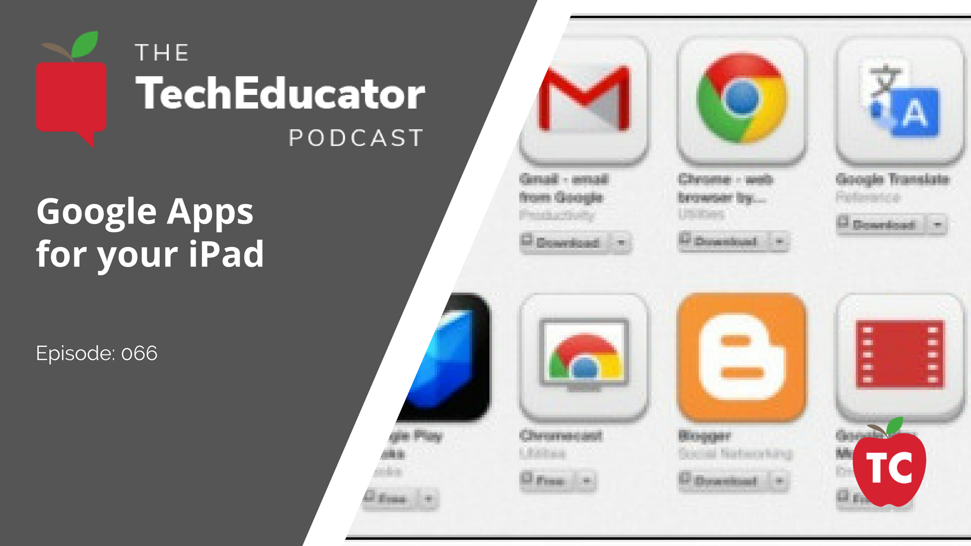 Learn how to use Google Apps on your iPad with your students