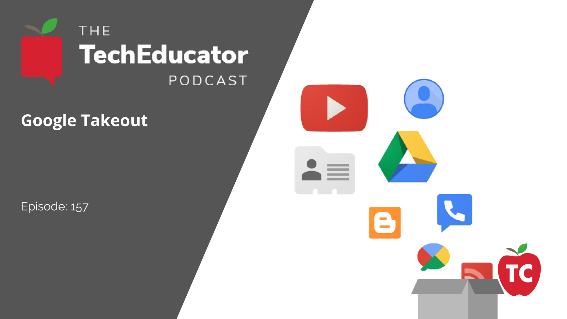 What should students and teachers know about Google Takeout?
