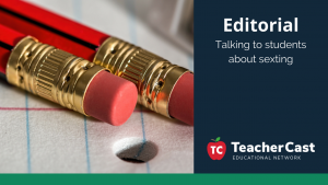 Talking to students about online conversations - TeacherCast Guest Blog