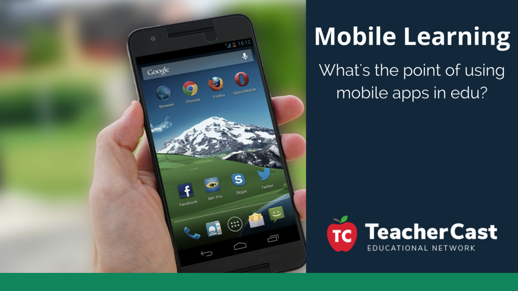 Using Mobile Devices in the Classroom - TeacherCast Guest Blog
