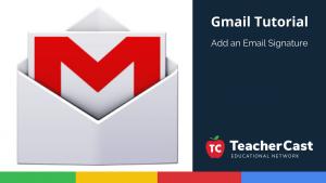 Gmail Email Signatures