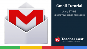 Using Stars to organize email messages in Gmail