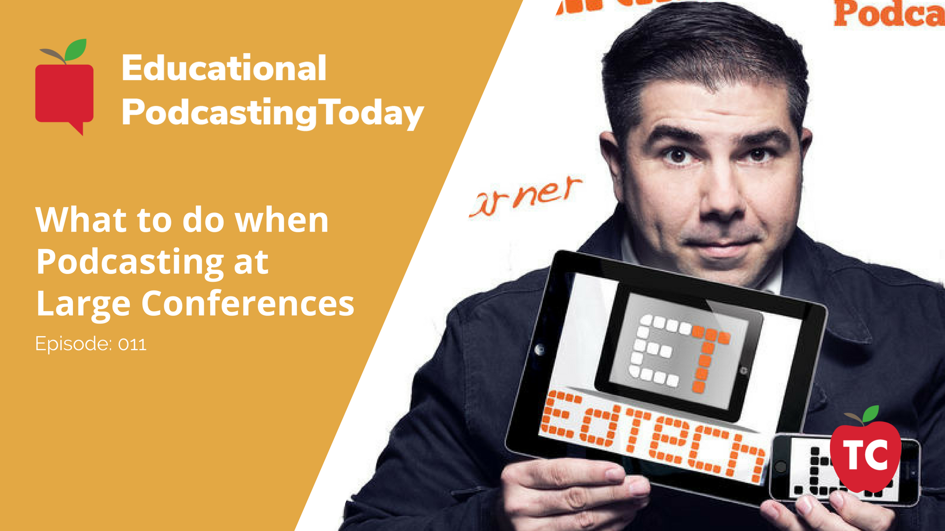 Podcasting at Large Conferences