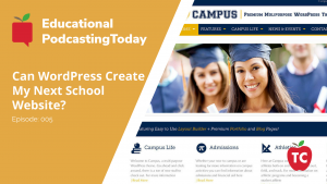 Using WordPress for School District Websites