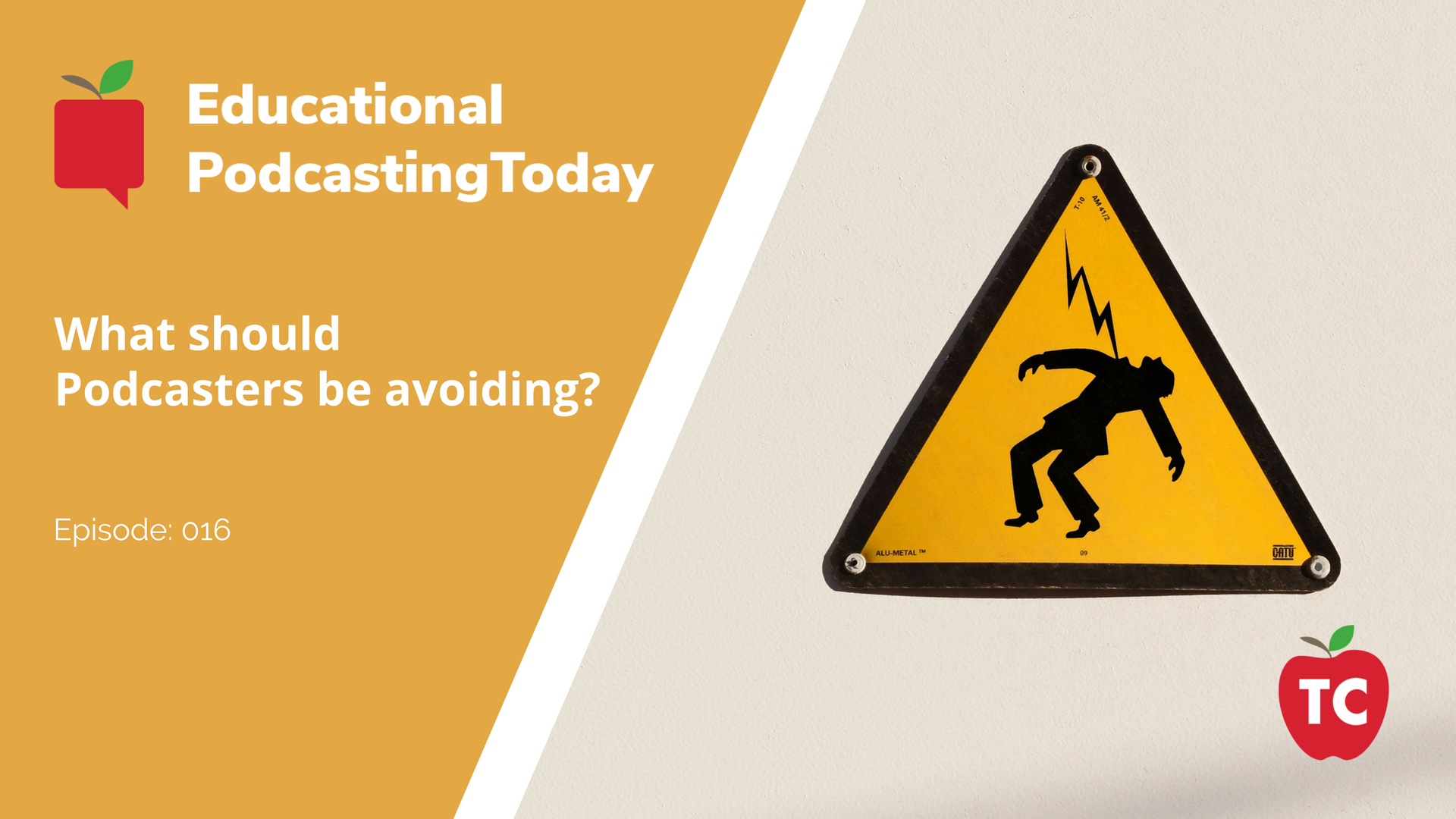 What should Podcasters be avoiding_