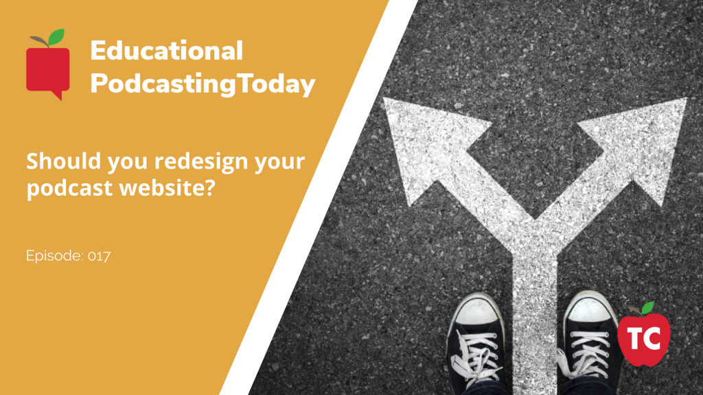 When do you decide to redesign your website