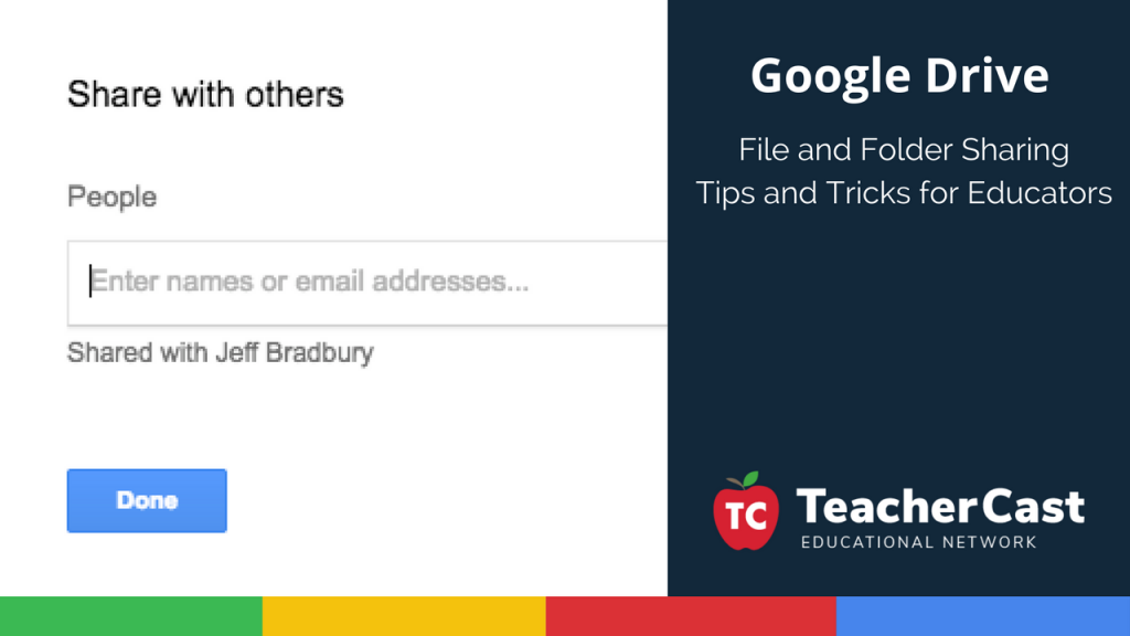 Sharing Google Drive Files and Folders