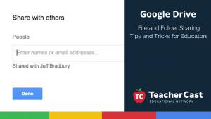 Sharing Google Drive Files and Folders