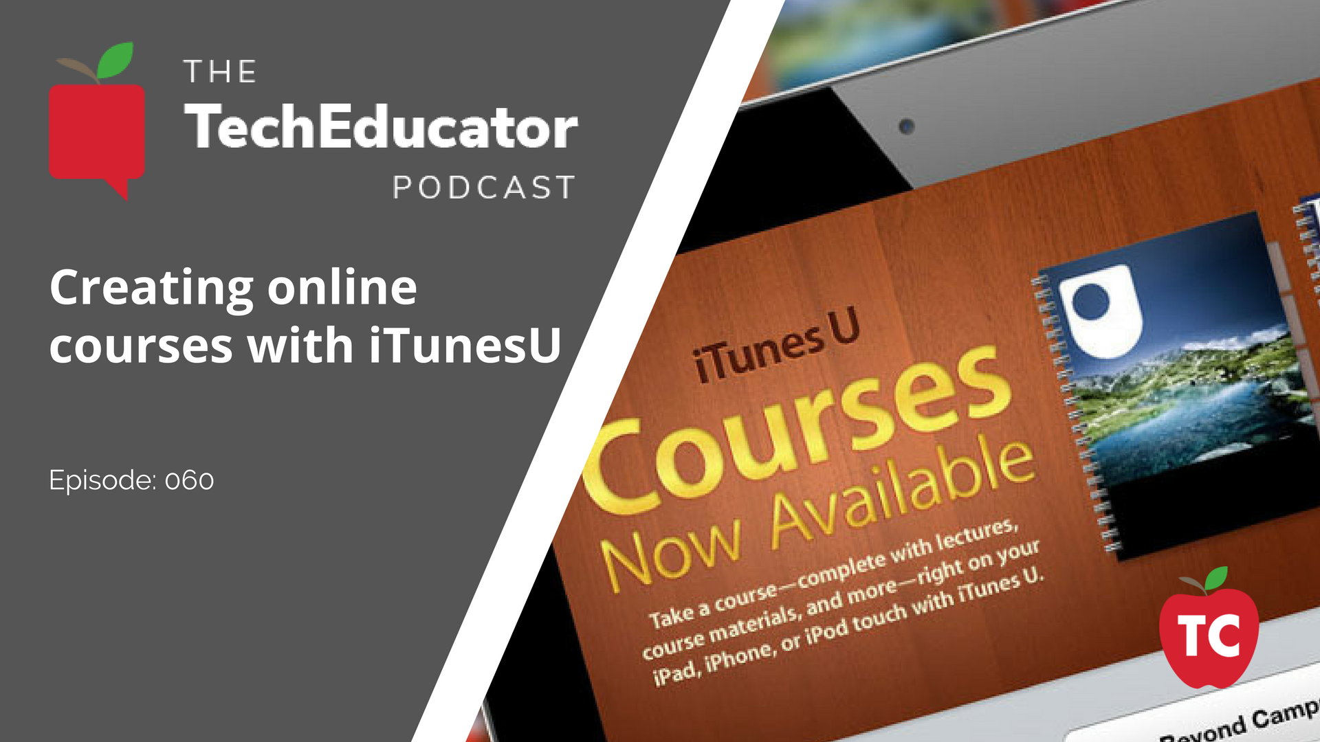 iTunesU: Crating Online Courses for your iPad