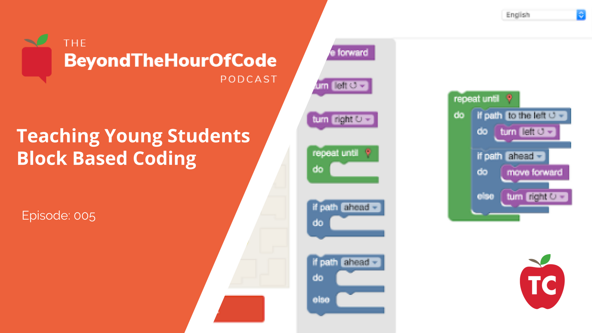 Teaching Block Based Coding to Young Students