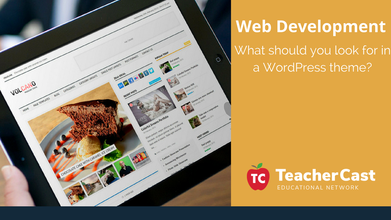 What should you look for in a WordPress theme_