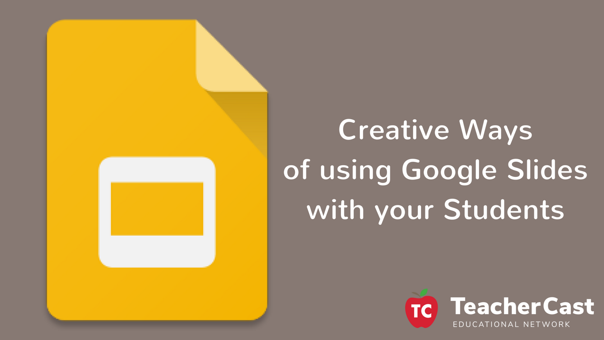Workshop: Creative Ways of using Google Slides