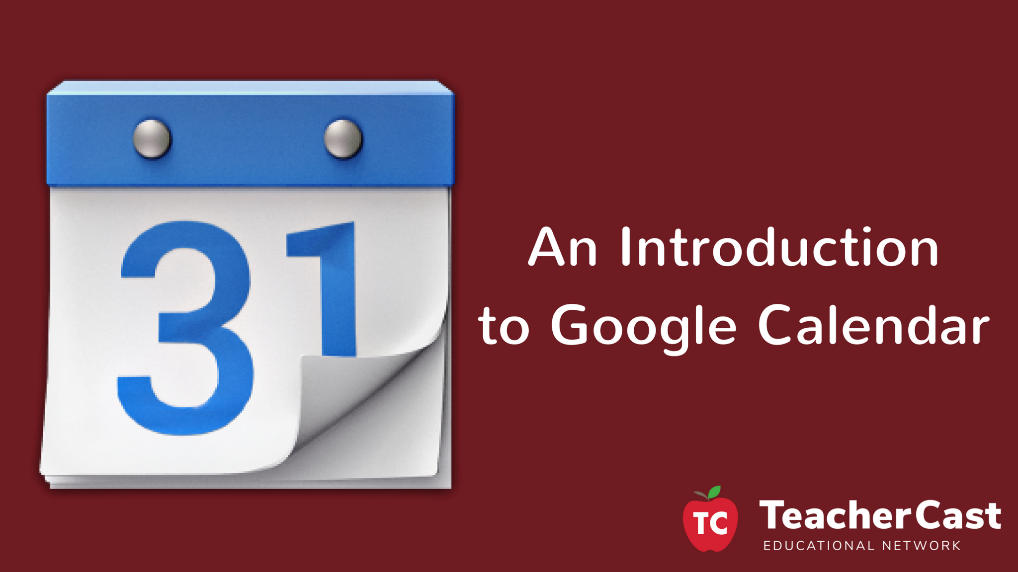 Workshop: An Intro to Google Calendar
