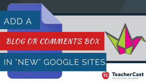 Add Padlet comments to New Google Sites