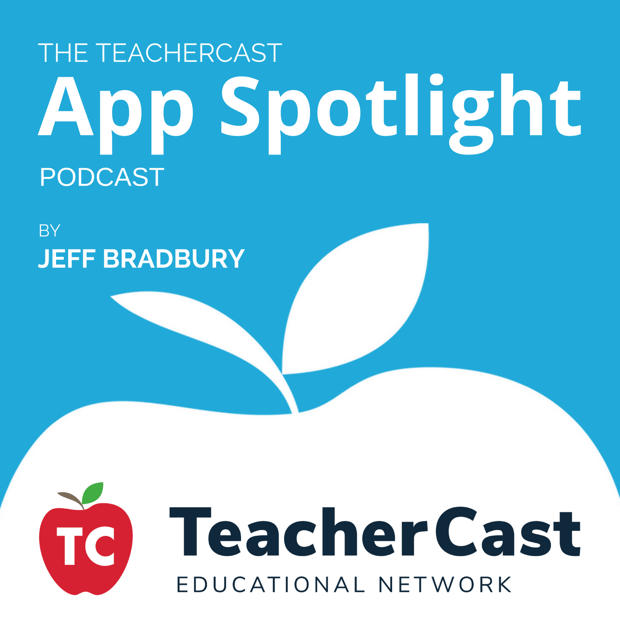 The TeacherCast App Spotlight Master iTunes Square