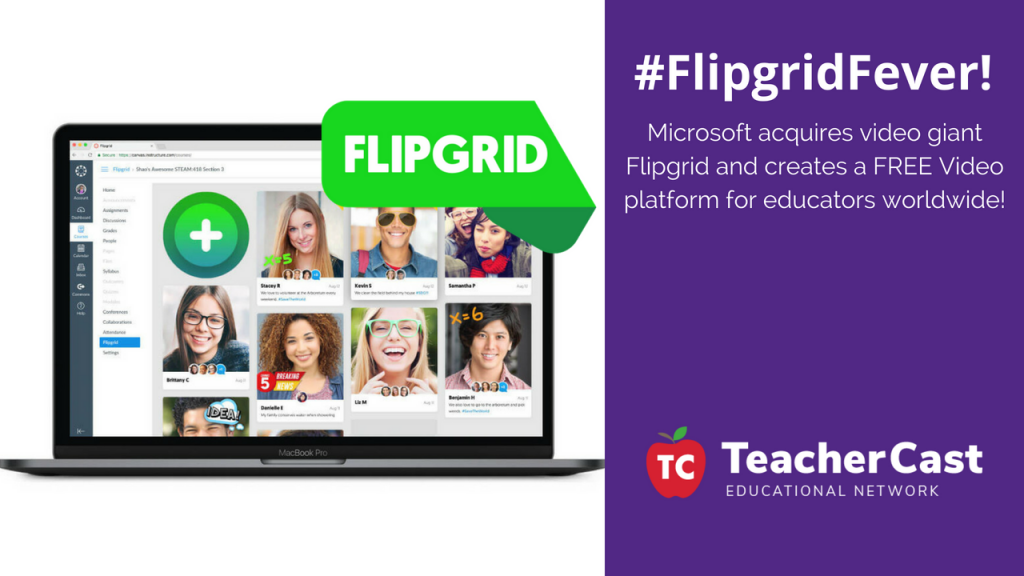 Flipgrid and Microsoft Announcement