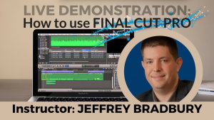How to Edit your Podcast using Final Cut Pro X