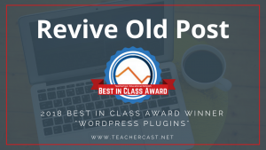 Revive Old Post Best in Class Award