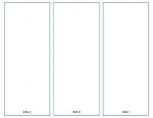 Tri-fold Brochure Template - A Google Slides Template from TeacherCast.net