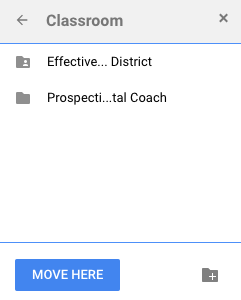 Add to Multiple Folders in Google Drive