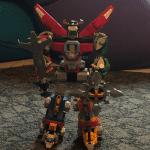 Full Voltron LEGO Robot