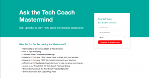 Tech Coach Mastermind Signup