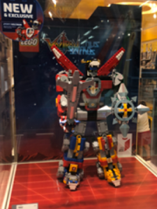 LEGO Voltron in Mall Store