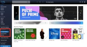 Amazon Playlist