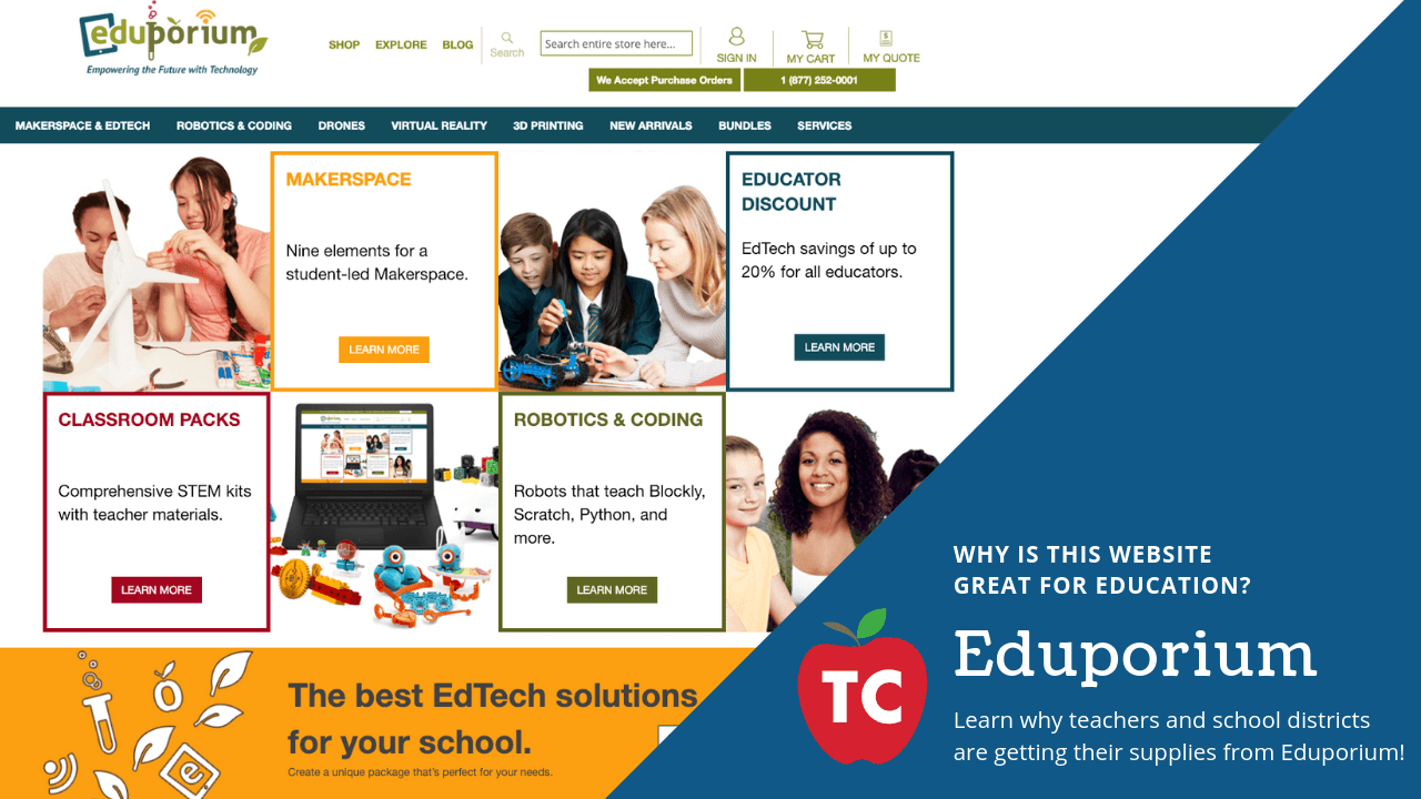 Eduporium Website Review
