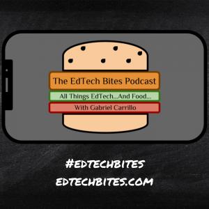 EdTech Bites Podcast Logo - Gabriel Carrillo