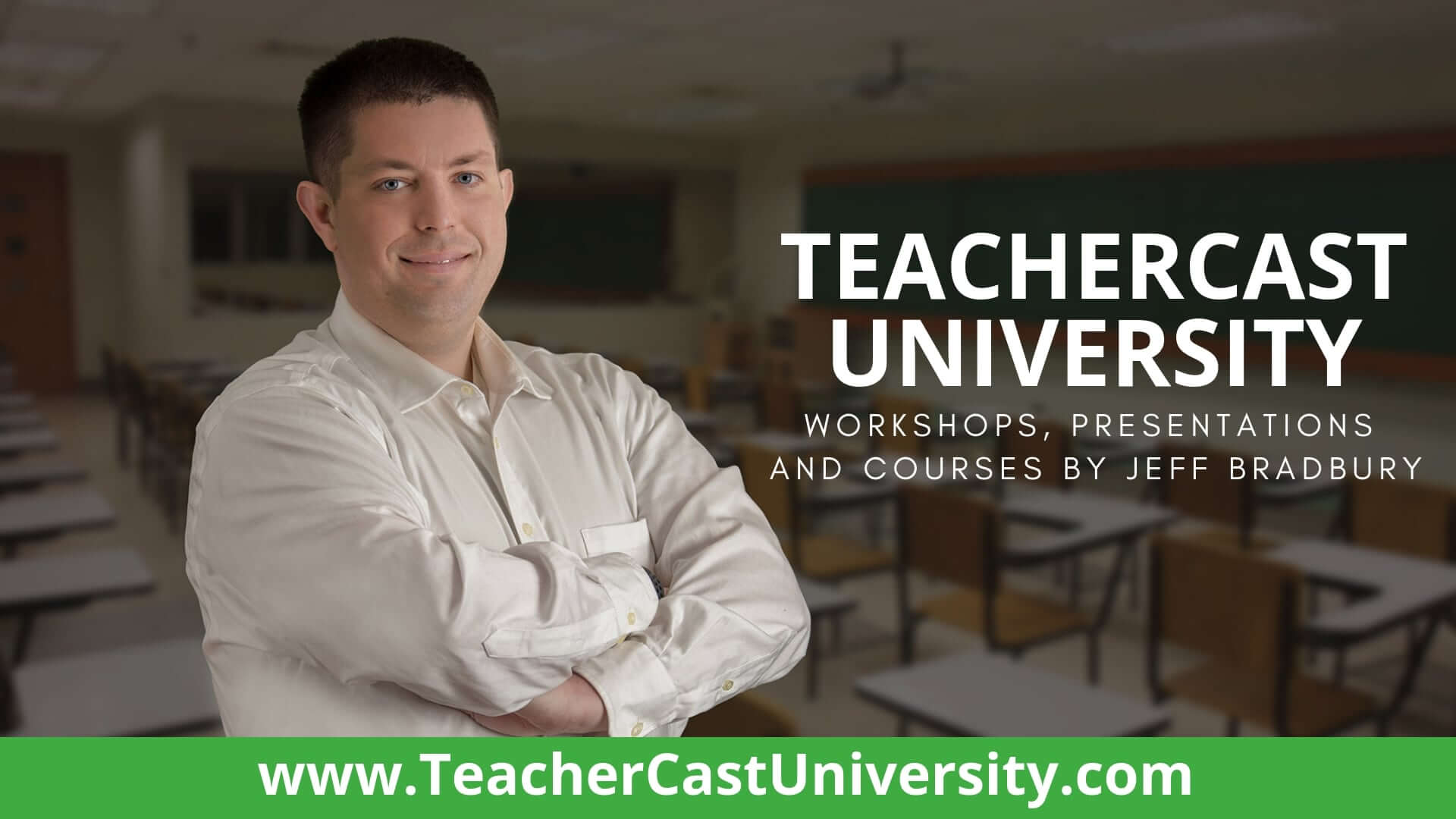 TeacherCast University Banner