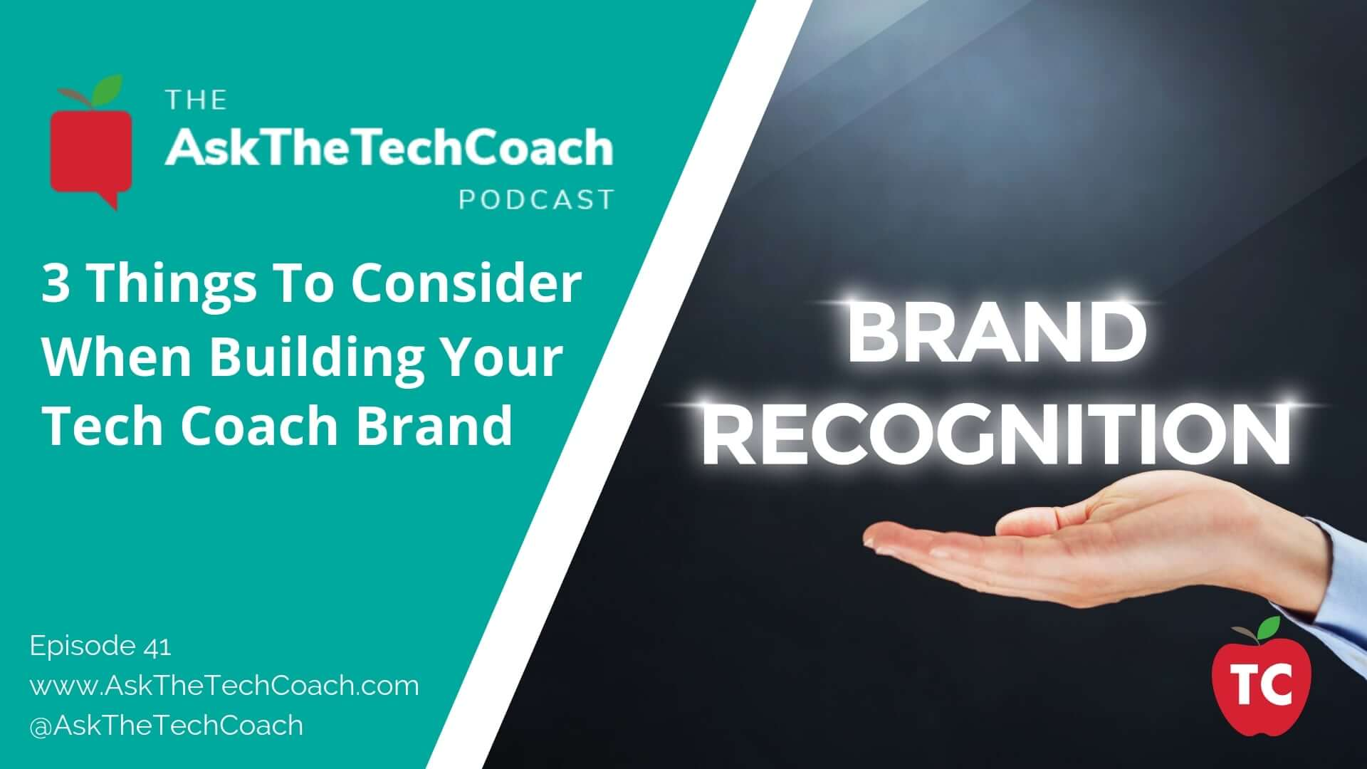 Building Your Tech Coach Brand: Part 1