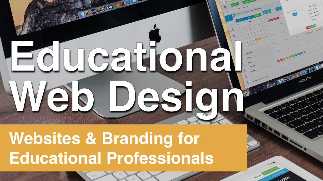 Educational Web Design Sidebar Graphic