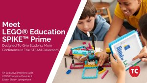 LEGO Education Interview with Esben